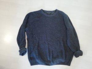Kensington Pulli Pullover Knit Strick Waffelpikee Oversize Boyfriend