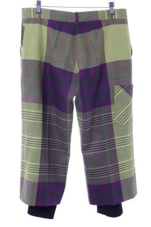 Kenzo 3/4-broek geruite print extravagante stijl