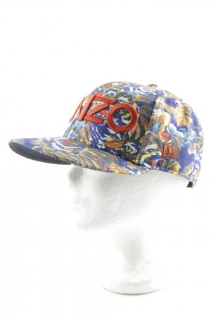 Kenzo Basecap abstraktes Muster Street-Fashion-Look