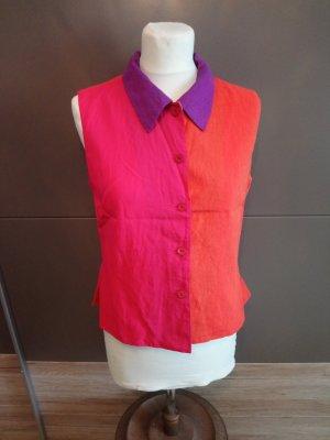 Kenzo Blouse en lin multicolore