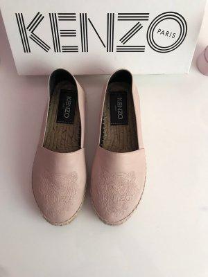 Kenzo Alpargatas color rosa dorado