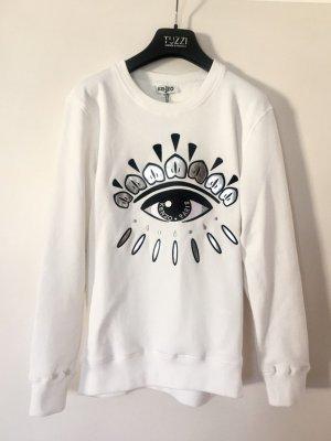 Kenzo Eye Sweater Pullover weiß NEU Neupreis 200€