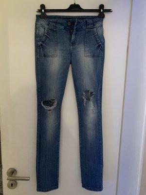 Kenzo Jeans cigarette bleu