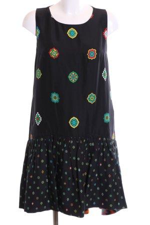 Kenzo H&M A-Linien Kleid Allover-Druck Casual-Look