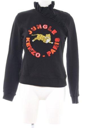 Kenzo H&M Sweatshirt mehrfarbig Casual-Look