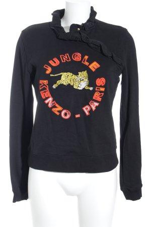 Kenzo H&M Sweatshirt Animalmuster sportlicher Stil