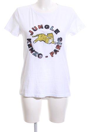 Kenzo H&M T-Shirt Motivdruck Casual-Look