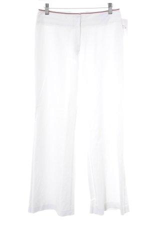 Kenzo Pantalone a vita alta bianco stile casual