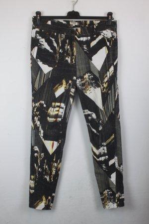 Kenzo Jeans Hose Gr. 40 grau gemustert (18/6/406/R)