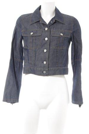 Kenzo Jeans Jeansjacke dunkelblau-schwarz Casual-Look