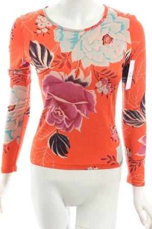 Kenzo Jeans Longsleeve Blumenmuster extravaganter Stil