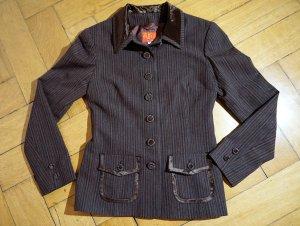 Kenzo Jungle Blazer aus Wolle mit Samtkragen