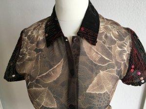 kenzo jungle Transparante blouse veelkleurig Synthetisch