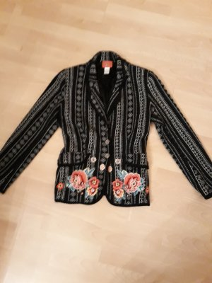 Kenzo Jungle Strickblazer, Gr.42  Wolle