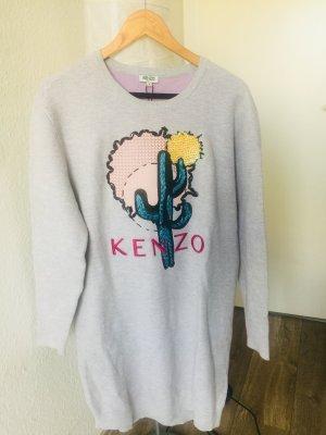 Kenzo Sweater Dress multicolored cotton