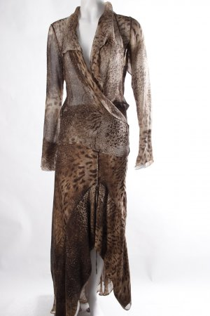Kenzo Costume Animal Print Brown