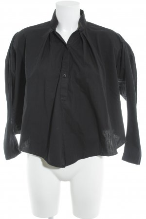 Kenzo Langarmhemd schwarz Business-Look