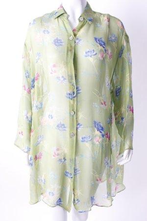 Kenzo Lange blouse veelkleurig