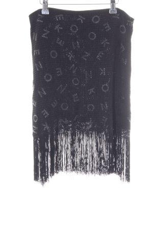 Kenzo Mini rok zwart volledige print elegant