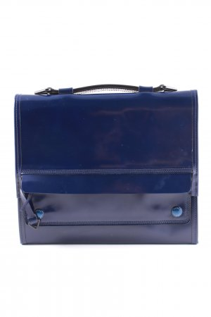 Kenzo Notebooktasche blau Business-Look