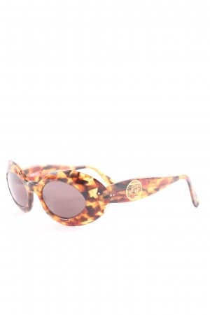 Kenzo Oval Sunglasses black-brown color gradient extravagant style
