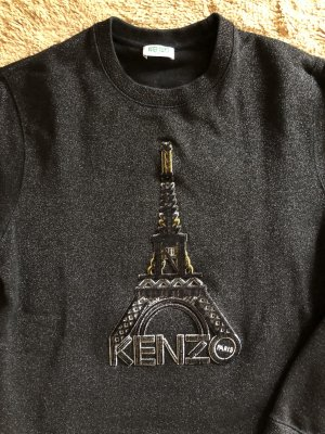 KENZO PARIS Sweater Glittery mit Eiffelturm