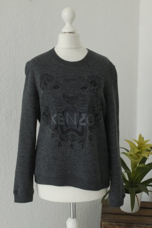 KENZO Paris Sweater Gr. M dunkelgrau