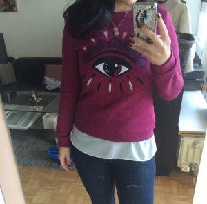 Kenzo Pullover Auge Gr. XS