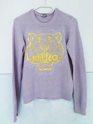 Kenzo Pullover in Flieder / Gelb