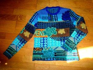 KENZO Pullover S Blautöne