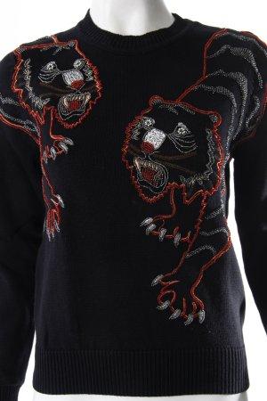 Kenzo Pullover Tiger Stickerei