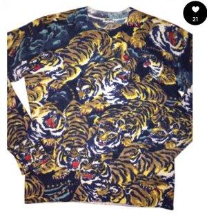 Kenzo Pullover Tigermotiv bunt S/M