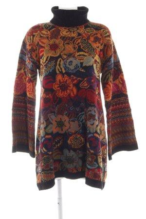 Kenzo Pulloverkleid Blumenmuster Casual-Look