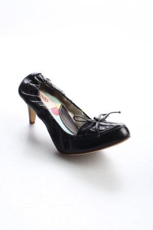 Kenzo Pumps schwarz-hellbraun klassischer Stil