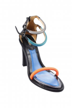 Kenzo Riemchenpumps Colourblocking Street-Fashion-Look