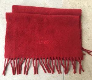 KENZO Schal Rot 100% Wool
