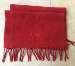 Kenzo Wollen sjaal rood