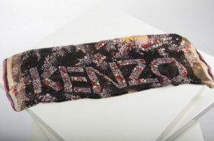 Kenzo Schal schwarz 100% Seide