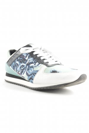 Kenzo Schnürsneaker abstraktes Muster Street-Fashion-Look