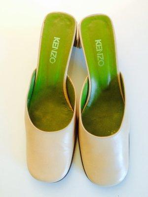 KENZO Schuhe 39 Beige/Grün/Braun