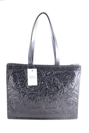 Kenzo Schultertasche schwarz Ornamentenmuster Eleganz-Look