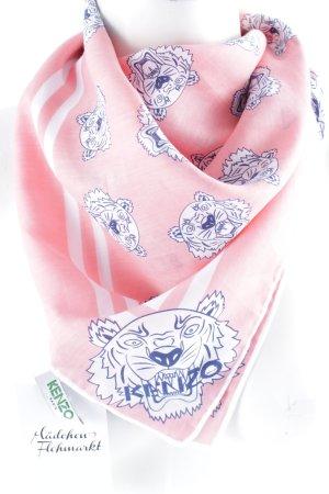Kenzo Zijden sjaal veelkleurig Gemengd weefsel