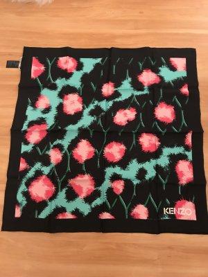 Kenzo H&M Zijden sjaal veelkleurig