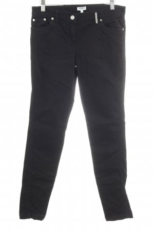 Kenzo Skinny Jeans schwarz Casual-Look