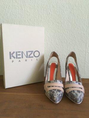 Kenzo Slingback pumps veelkleurig Leer
