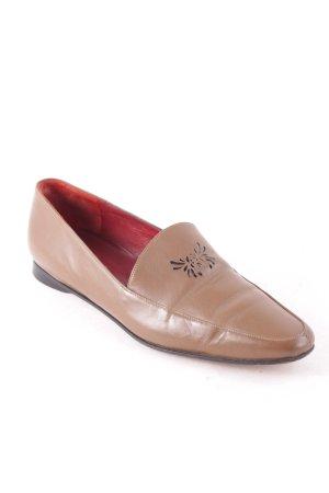 Kenzo Pantofola marrone-grigio stile classico