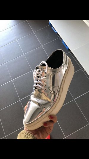 Kenzo Heel Sneakers white-silver-colored