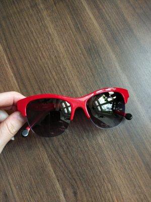 Kenzo Retro Glasses red-brick red