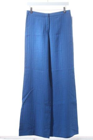 Kenzo Stoffhose blau extravaganter Stil