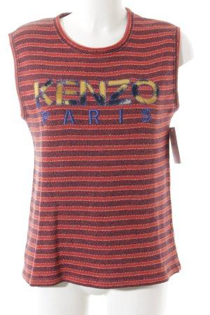 Kenzo Stricktop Streifenmuster Casual-Look